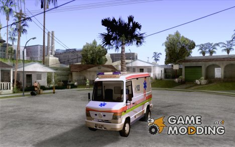 Mercedes-Benz Vario 512 D Ambulamce для GTA San Andreas