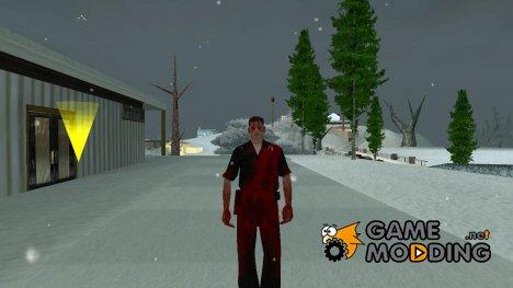 Зомби lapd1 for GTA San Andreas