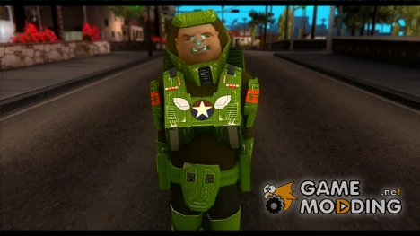 Space Ranger from GTA 5 v.2 для GTA San Andreas