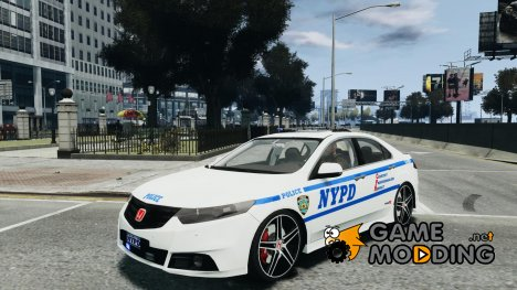 Honda Accord Type R NYPD (City Patro 1950l) для GTA 4