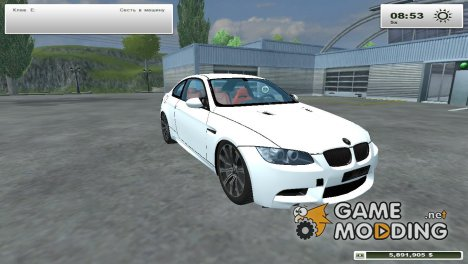 BMW M3 for Farming Simulator 2013