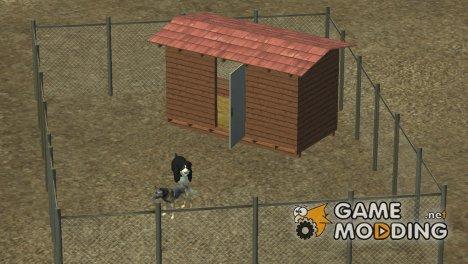 Вольер с собаками для Farming Simulator 2013