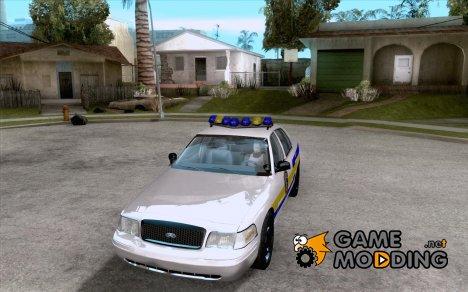 Ford Crown Victoria Puerto Rico Police для GTA San Andreas
