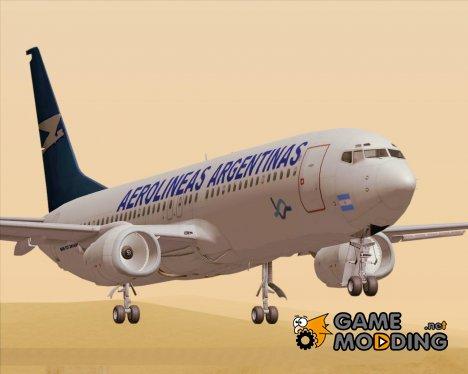 Boeing 737-800 Aerolineas Argentinas for GTA San Andreas