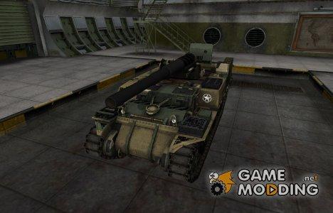 Отличный скин для M12 for World of Tanks