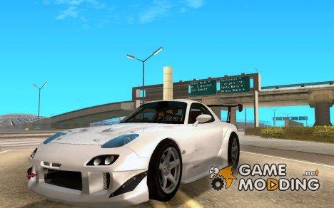 Mazda RX-7 17 Agustusan Gan для GTA San Andreas