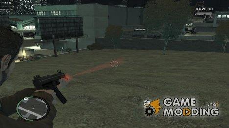 Flashlight for Weapons v 2.0 for GTA 4