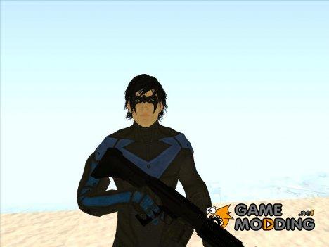 Nightwing DC Comics для GTA San Andreas