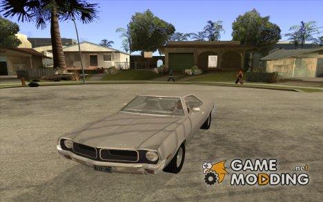 AMC Javelin 1970 для GTA San Andreas