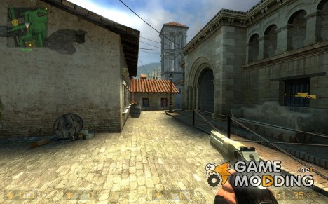 dusty Desert Eagle для Counter-Strike Source