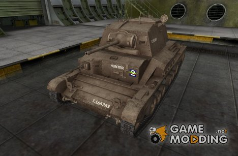 Шкурка для А10 (Cruiser MK II) для World of Tanks