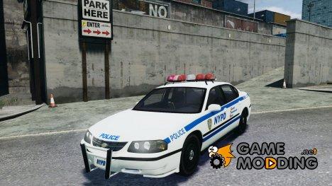 Chevrolet Impala 2003 NYPD V2.0 for GTA 4