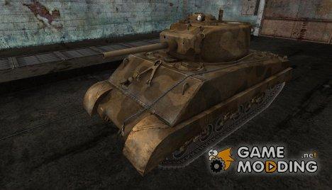 Шкурка для M4A3E2 for World of Tanks