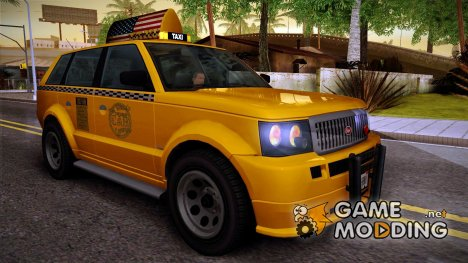 VAPID Huntley Taxi (Saints Row 4 Style) for GTA San Andreas