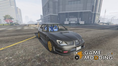 2006 Subaru Impreza WRX STi 1.5 for GTA 5