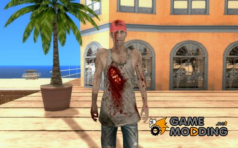 Зомби из Resident evil for GTA San Andreas