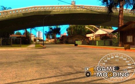 Спидометр 1.5 beta для GTA San Andreas