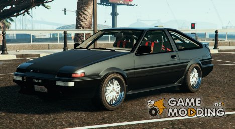 Toyota AE86 Drift for GTA 5