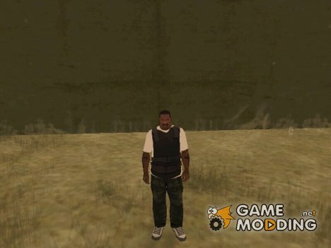 Бронежилет поверх футболки for GTA San Andreas