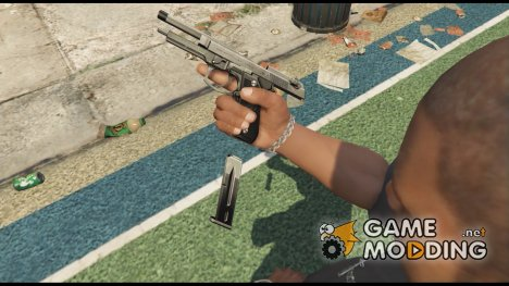 Beretta M9 (Animated) for GTA 5