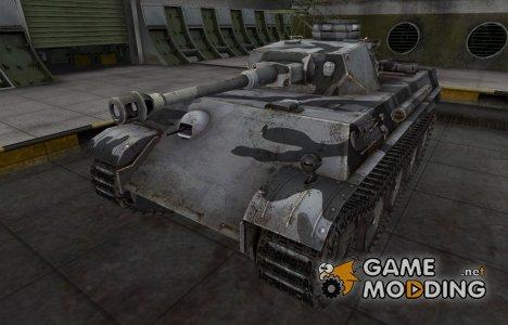 Шкурка для немецкого танка PzKpfw V/IV для World of Tanks