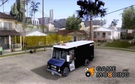 Swat Van from L.A. Police для GTA San Andreas