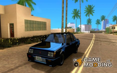 Mitsubishi Lancer EX Turbo 1983 for GTA San Andreas
