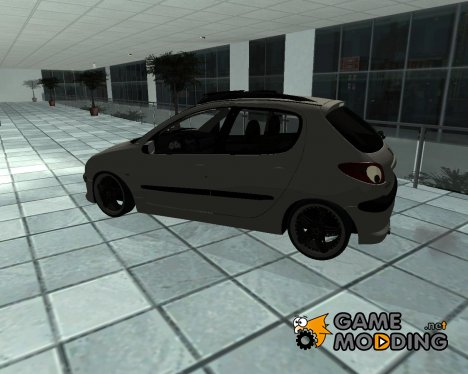 Peugeot 206 New for GTA San Andreas