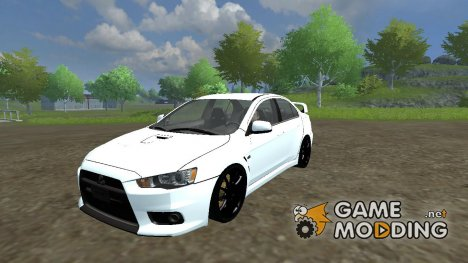 Mitsubishi Lancer Evolution v 2.0 for Farming Simulator 2013