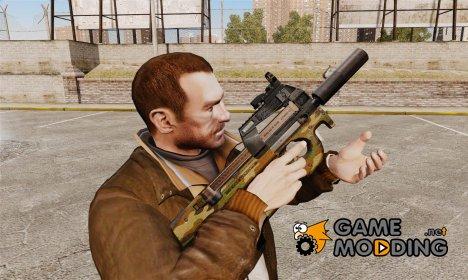 Бельгийский пистолет-пулемёт FN P90 v5 for GTA 4