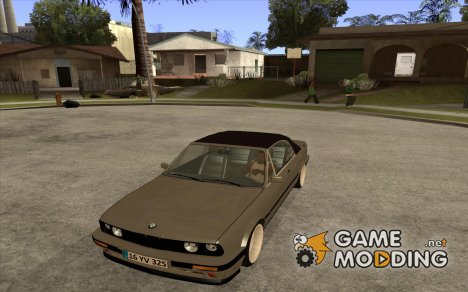 BMW E30 325i Cabrio 1989 for GTA San Andreas