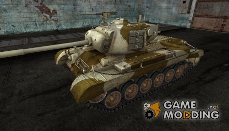 Шкурка для M46 Patton №18 для World of Tanks