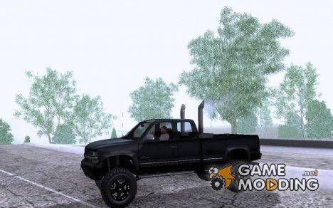 Chevrolet Silverado 2500 Lifted для GTA San Andreas