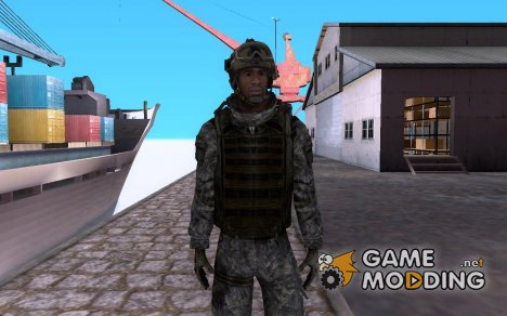 Сержант Фоули для GTA San Andreas