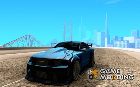 Ford Mustang GT Black List for GTA San Andreas
