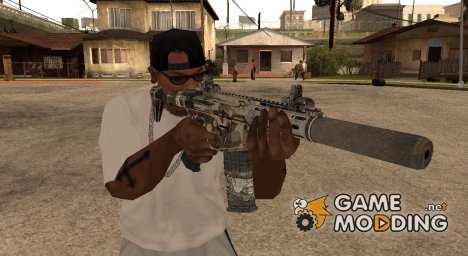 Honey Badger from CoD Ghosts for GTA San Andreas