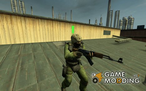 Royal Marines Commando для Counter-Strike Source