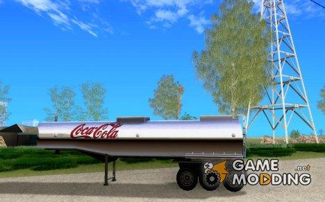 Прицеп Coca-Cola for GTA San Andreas