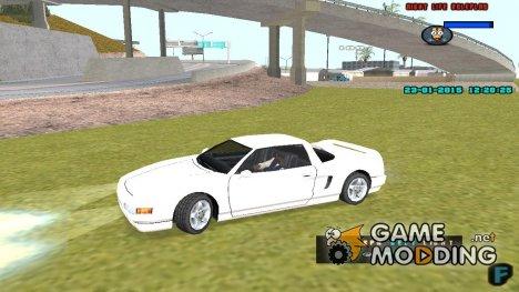 Плавный поворот колес для GTA San Andreas