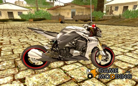 Kawasaki Z1000 2014 - The Predator для GTA San Andreas