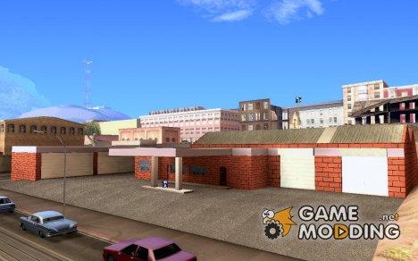 Новые текстуры гаража в Doherty v.1.1 (final) для GTA San Andreas
