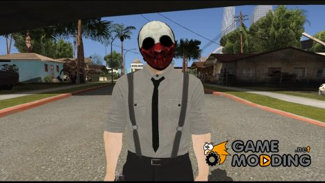 Payday 2 Wolf Reservoir Dogs (Fan Made) for GTA San Andreas