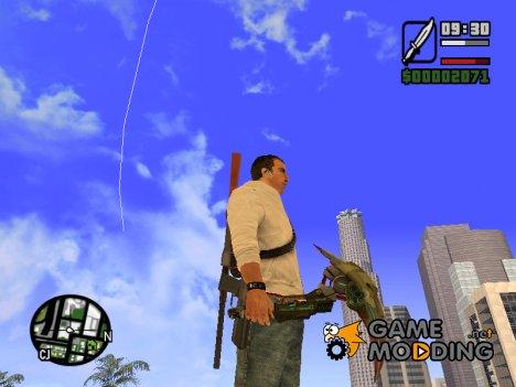 Zombie scythe для GTA San Andreas