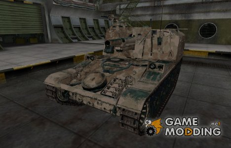 Французкий скин для AMX 13 105 AM mle. 50 для World of Tanks