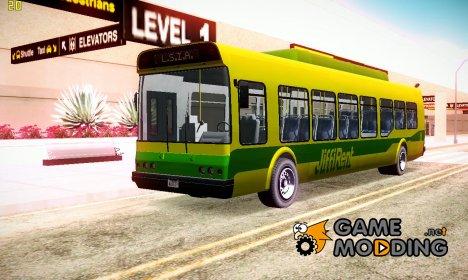 GTA V Airport Bus для GTA San Andreas