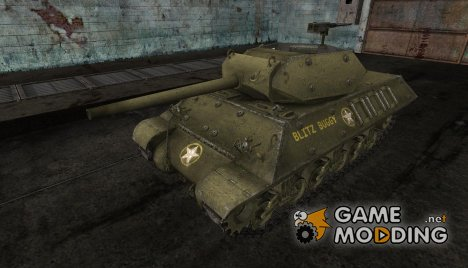 "Шкурка для M10 Wolverine ""BLITZ BUGGY"" для World of Tanks"