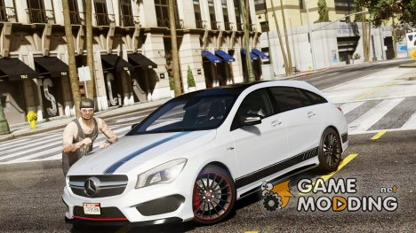 Mercedes-Benz CLA 45 AMG Shooting Brake 1.8 для GTA 5