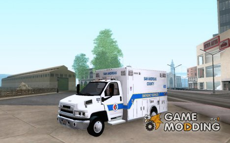 Chevrolet C4500 Ambulance для GTA San Andreas