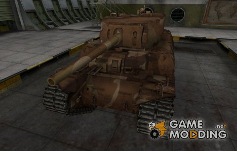 Шкурка для американского танка M6 для World of Tanks