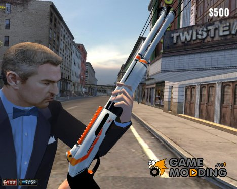 M4S90-2 Asiimov для Mafia: The City of Lost Heaven